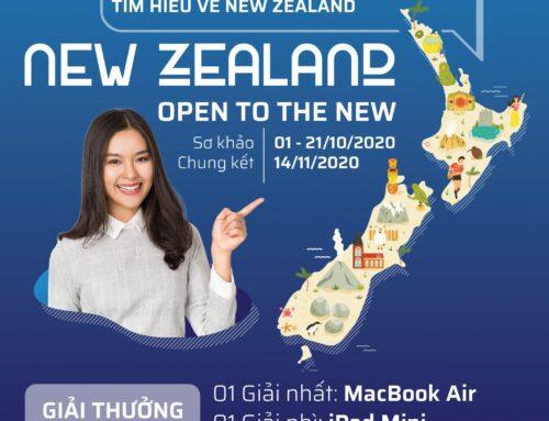 """Thông báo về cuộc thi tranh biện bằng tiếng Anh """"New Zealand – Open to the New"""""""